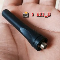Antena HT Pendek Lentur 6cm - Baofeng Pxton 888s - UHF Short Antenna