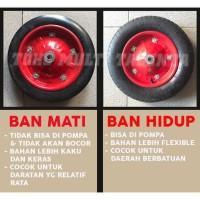 Roda Gerobak Pasir / Cor / Ban Troli Sorong / Lori Dorong / Bangunan