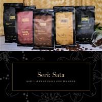 Kopi Arabika Robusta Wine Honey Asli Indonesia Bubuk Giling 100G