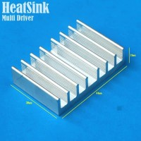 DIY Multi Driver Aluminium Heatsink Led Driver P.40mm L.30mm T.11mm