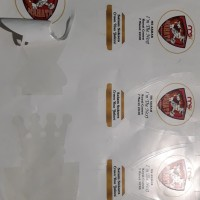 Cetak Stiker Label Kemasan Bahan Vinyl + Cutting