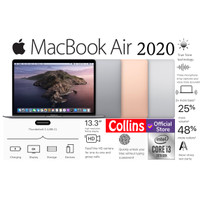 Apple MacBook Air 2020 I3-10th Gen 8GB SSD 256GB 13.3 Retina Touch ID