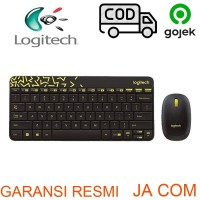 KEYBOARD+MOUSE WIRELESS LOGITECH MK240 RESMI