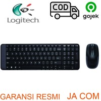 KEYBOARD+MOUSE WIRELESS LOGITECH MK220 RESMI