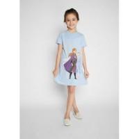 Baju Anak Disney Original/Dress Anak Disney's Frozen Printed