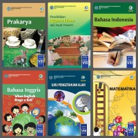 Buku Paket kelas VIII 2 SMP Kls 8 MTS MTK IPS IPA PPKN Seni Budaya