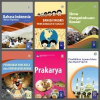 Buku Paket Kelas IX 3 SMP K2013 R2018 MTK Inggris PPKn IPA IPS Kls 9