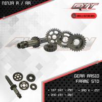 Gear Rasio qtt Ninja R/RR frame STD