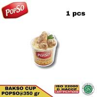 bakso sapi asli dari POPSO 1 cup @350 gr