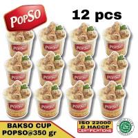 bakso sapi asli dari POPSO 12 cup @350 gr