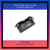 Adaptor Charger Laptop Toshiba A100 A105 U300 U305 19V 3.95A Original