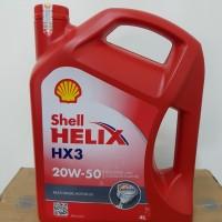 Oli Shell Helix Hx3 20w-50 4lt original asli