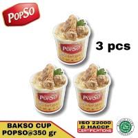 bakso sapi asli dari POPSO 3 cup @350 gr