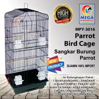 Kandang / Sangkar Burung Parrot MPY-3016 - Hitam