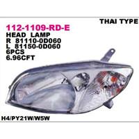 Head Lamp Lampu Depan Toyota VIOS 2002 2003 2004 2020