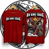 Kaos RX king yamaha 135cc atasan pria distro terbaru