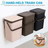 Flash sale Trash Can Kitchen Wall Mounted Garbage Bin Recycle