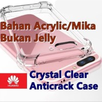 * Huawei Honor 7ahonor 9 Lite - Crystal Clear Anticrack Hard Case