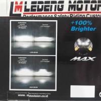 Lampu Utama Nmax Autovision Headlight Headlamp N-Max PCB LED Cree 18