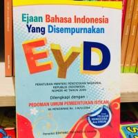 Buku EYD - Ejaan Bahasa Indonesia Yg Di Sempurnakan