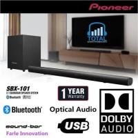 Pioneer SBX-101 Bluetooth Sound System Speaker Soundbar resmi IMS