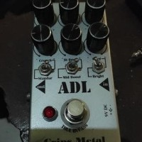 pedal efek effect gitar ADL crips metal custom