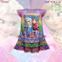 (DA10U) Daster Anak Frozen, Baju Tidur Anak Beautiful Dream (U5-9 Thn)