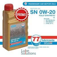 OLI 77 LUBRICANTS MOTOR OIL SN 0W-20 (Liter)
