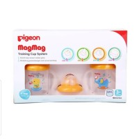 Pigeon Mag mag Training Cup - Bebek Gajah Orange
