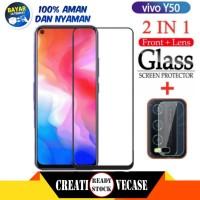 Tempered Glass Vivo Y50 / Y30 2020 6,53 inc Anti Gores Kaca