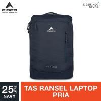 Eiger Habile Lite Laptop Backpack - Navy 25L