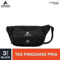 Eiger Waist Bag Wall Run 1A Regular Waist Bag 3L - Black
