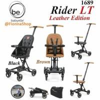 Stroller Baby Elle Babyelle 1689 Rider LT Leather Edition / NEW VERSIO - Cokelat