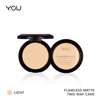 YOU Basic Collection Flawless Matte Two Way Cake - 01 Light