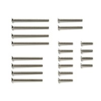 Stainless Steel Countersunk Screw Set (10/12/20/25/30mm) - 15510
