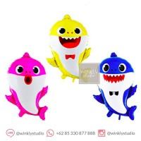 Balon Baby Shark Balloon Foil Balon Babyshark Pinkfong