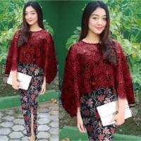 Baju Kebaya Brukat Set Rok Batik Baju kondangan