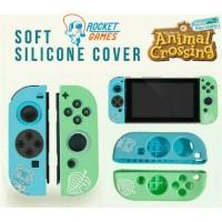 Silicon Joycon Soft Case Joy Con Nintendo Switch Animal Crossing AC-1
