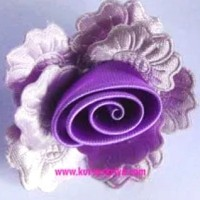 korsase bros bunga pita lila