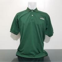 Baju Polo Kaos FILA ITALY - Size XL Lebar Dada 56 cm - Original -Bekas