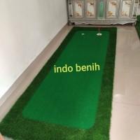 lapangan mini golf portablePREMIUM 4m x 1.1m