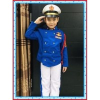 Baju Taruna Akademi militer anak Baju Taruna Akmil Baju profesi Akmil - 3-4 tahun