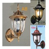 lampu hias dinding /lampu tempel outdoor/indoor 1007 s