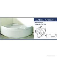 HOT SALE BATHTUB SUDUT CORNER ACRYLIC MALIBU APRONE 120 Terjamin
