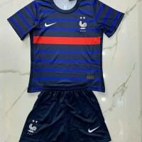 Baju Bola Timnas Prancis Perancis France Home Kids Kid Anak 2020 2021
