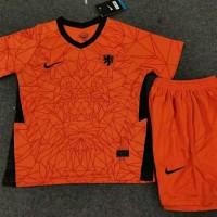 Jersey Baju Bola Timnas Belanda Home Kids Kid Anak Kecil New 2020 2021