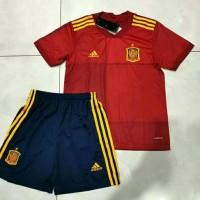 Jersey Baju Bola Timnas Spain Spanyol Home Kids Kid Anak New 2020 2021