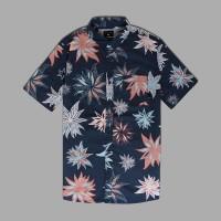 Kemeja Original Quicksilver South Night SS Shirt