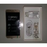 SAMSUNG GALAXY A9 PRO WARNA GOLD RAM 4 GB ROM 32 GB