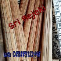 Kerai / Tirai bambu 2 x 2 meter /tirai bambu /kerai/ tangan pertama - Tanpa Katrol